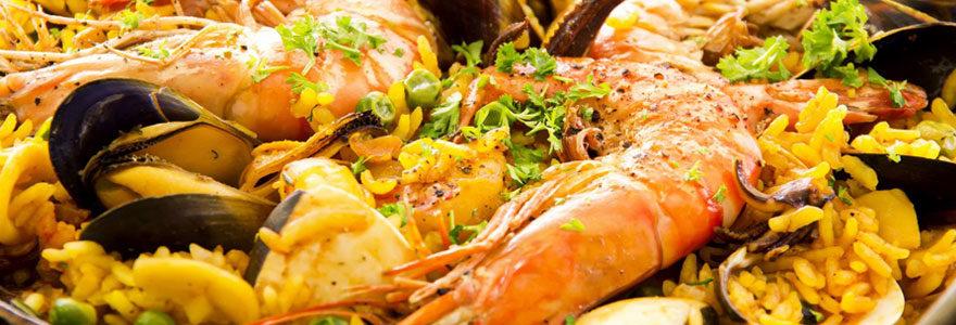 Poissons et des fruits de mer