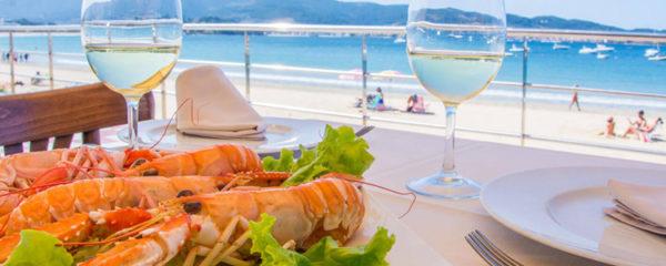 Restaurant avec vue sur mer